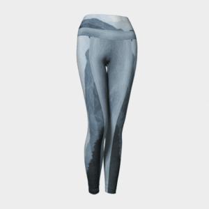 Blue Mountain Leggings, Horizon Leggings, Yoga Leggings
