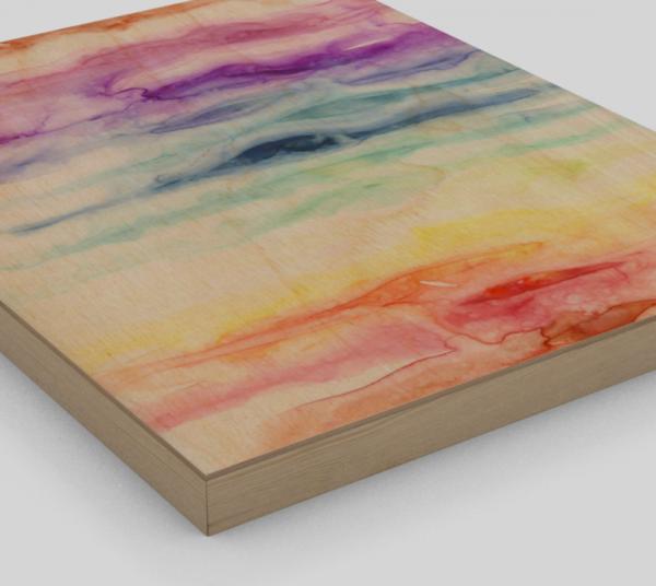 Chakras Wood Print 2