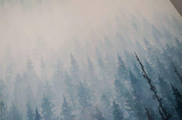 nature art, forest art, tree art, healing art, zen art, meditation art