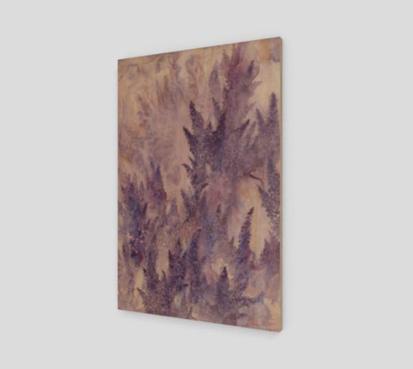 lavender art, floral art print, lavender art print