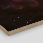 Nebula One Wood Print 2