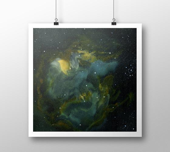 galaxy art, space art, nebula art, science art