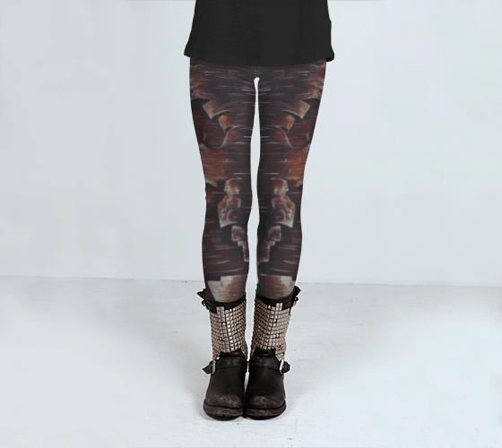 Tree Leggings, Printed Leggings, Nature Leggings