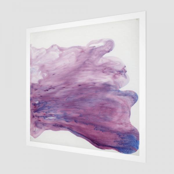 purple art print, abstract art print, modern art print