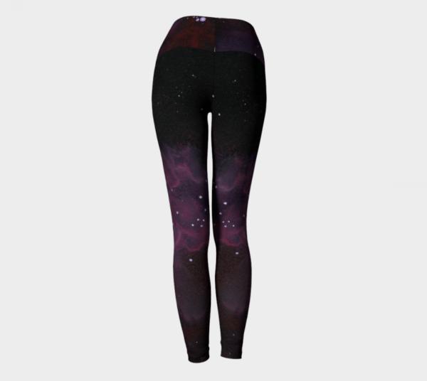 Space Leggings, Galaxy Leggings, Galaxy Print