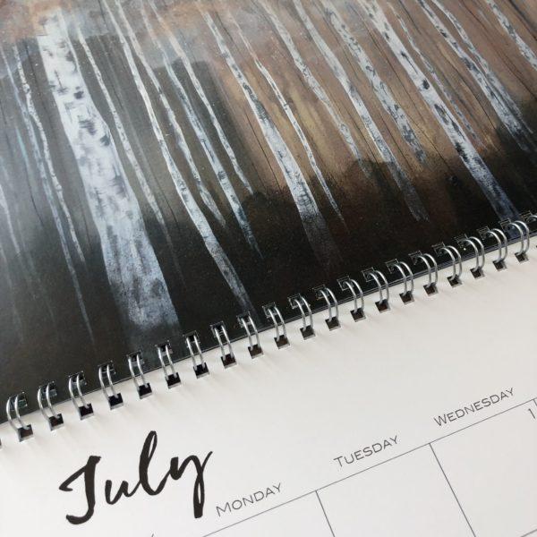 2020 Nature Art Calendar by Emily Magone 21 e1571452163289