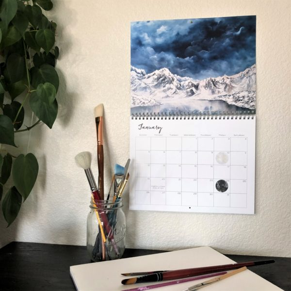 2020 Nature Art Calendar by Emily Magone 45