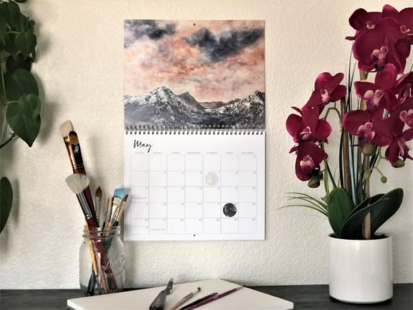 2020 Nature Art Calendar by Emily Magone 53