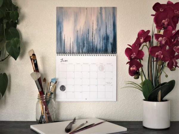 2020 Nature Art Calendar by Emily Magone 54