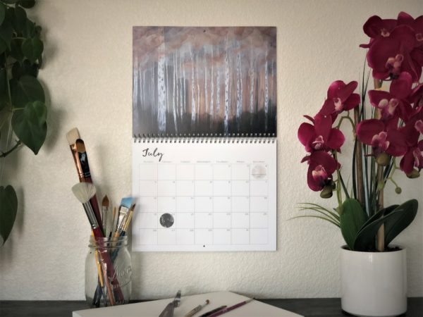 2020 Nature Art Calendar by Emily Magone 57