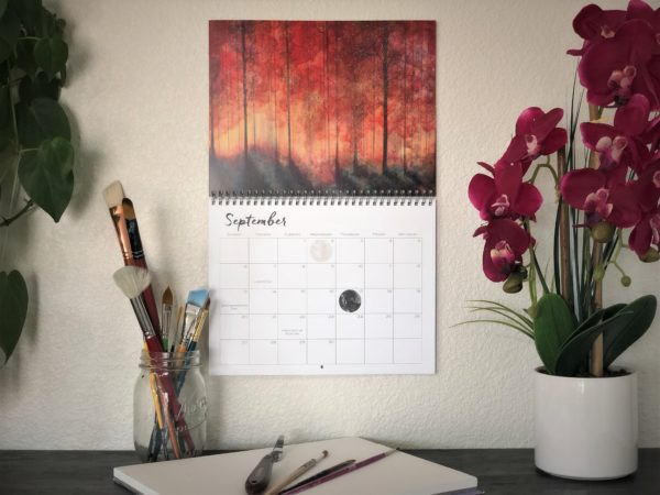 2020 Nature Art Calendar by Emily Magone 58