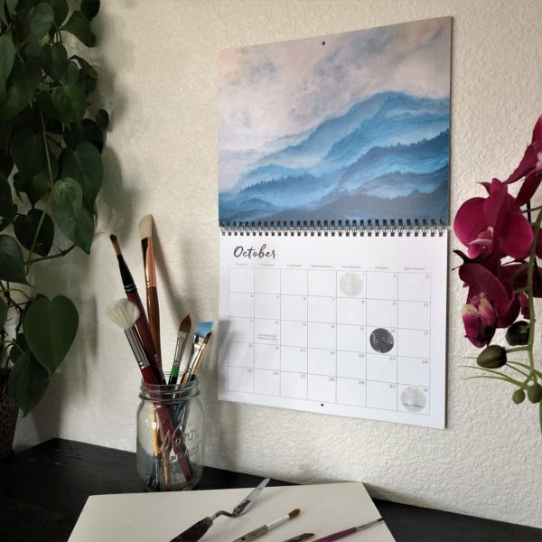 2020 Nature Art Calendar by Emily Magone 60