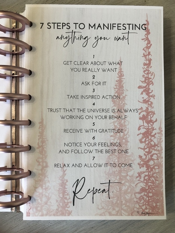 7 Steps to Manifesting 2