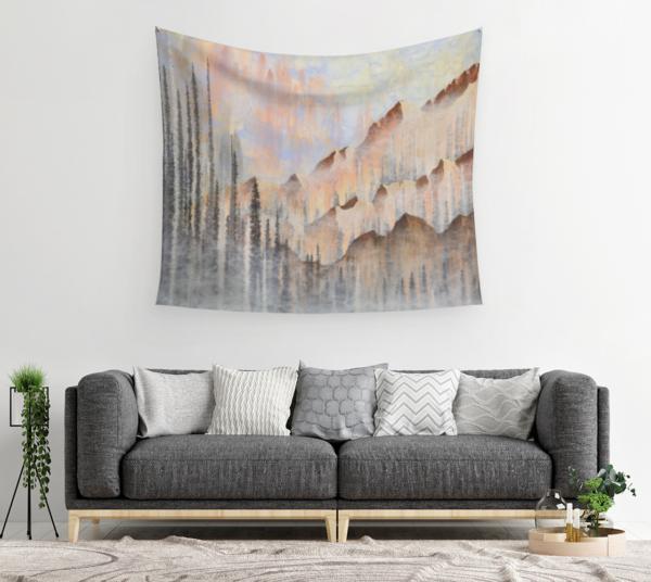 Afterburn Tapestry