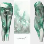 Cancer Zodiac Leggings
