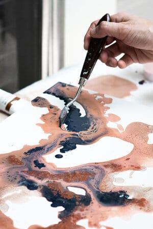 DIY art how to paint desert hue emily magone