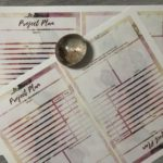 Disc Planner Goal Planner Pages 4