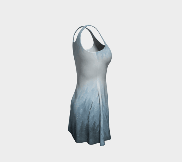Dress Blue Forest Flare Dress 1 1