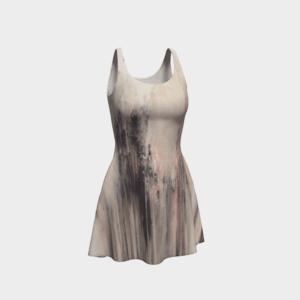 Dress Blush Abstract Flare Dress 2 1