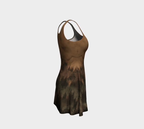 Dress Copper Forest Flare Dress 1