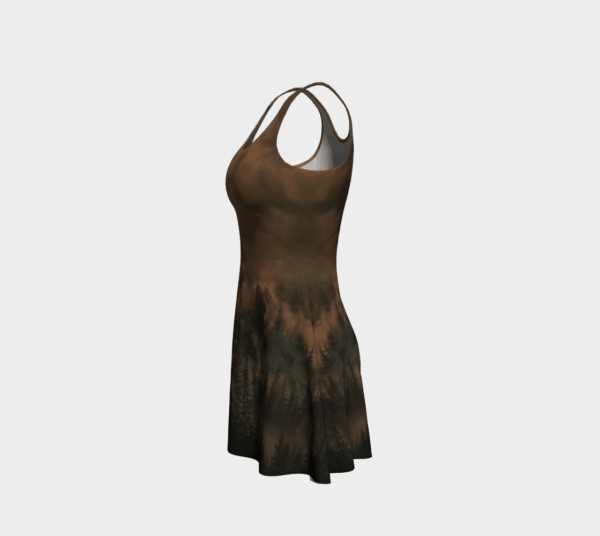 Dress Copper Forest Flare Dress 3