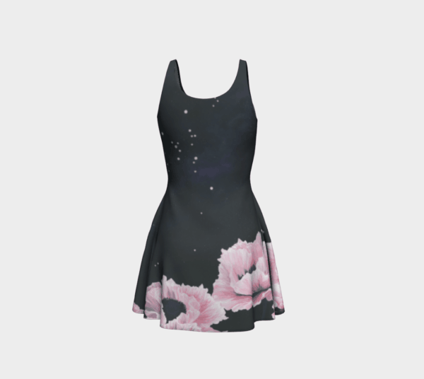 Dress Space Poppies Flare Dress 4 1