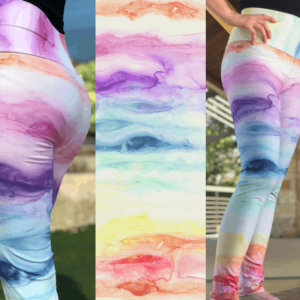 Eco Friendly Art Leggings Template