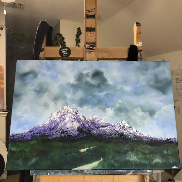 Gratitude Trailblazer Original Painting