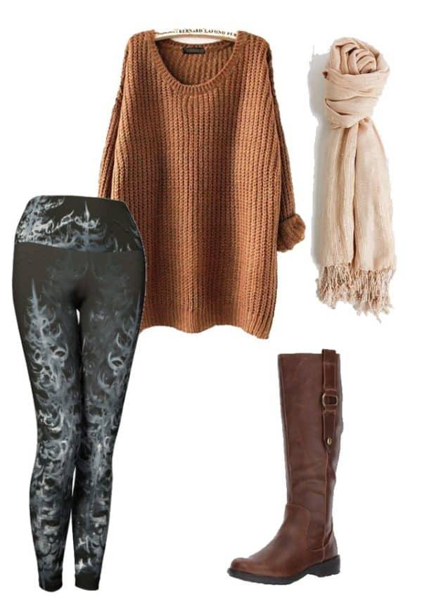 Leggings Black Forest Leggings Outfit Ideas 1