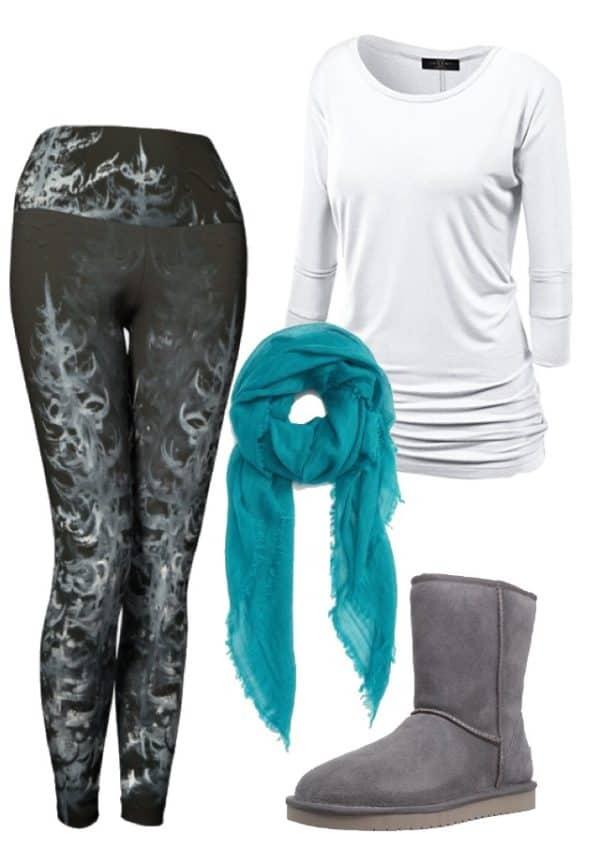 Leggings Black Forest Leggings Outfit Ideas 2