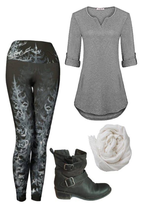Leggings Black Forest Leggings Outfit Ideas 4