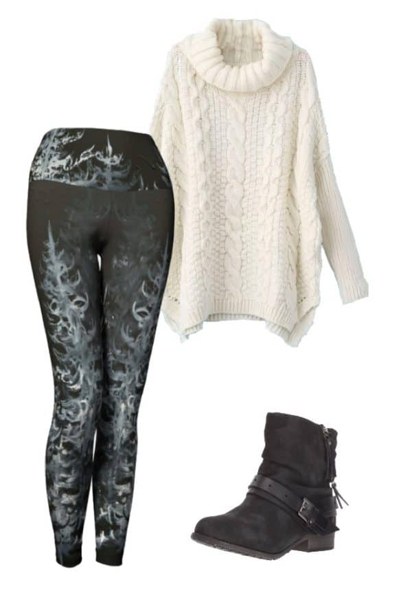 Leggings Black Forest Leggings Outfit Ideas 6