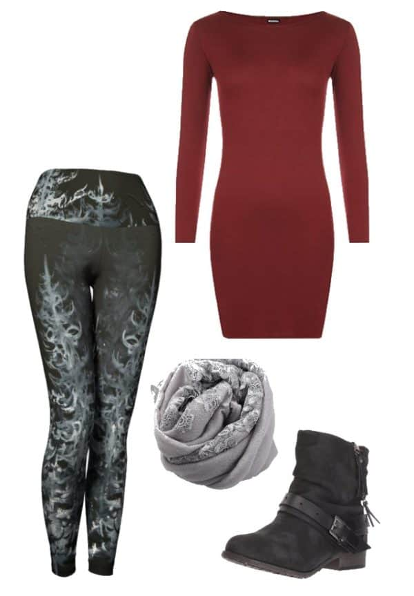Leggings Black Forest Leggings Outfit Ideas 7