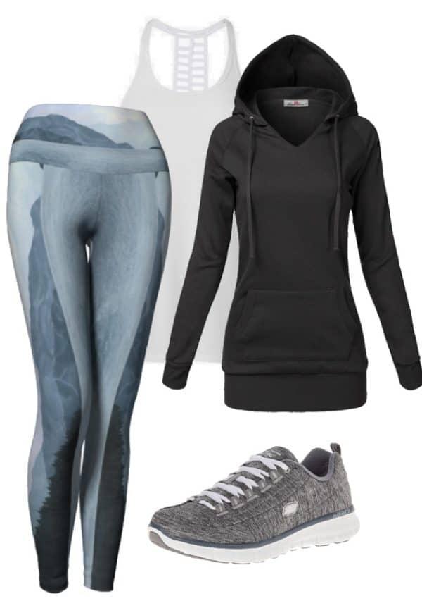 Leggings Blue Mountain Leggings Outfit Ideas
