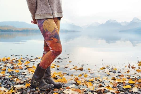 Leggings Fall Leaves Leggings 1