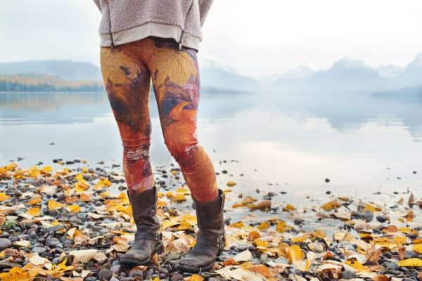 Leggings Fall Leaves Leggings 6