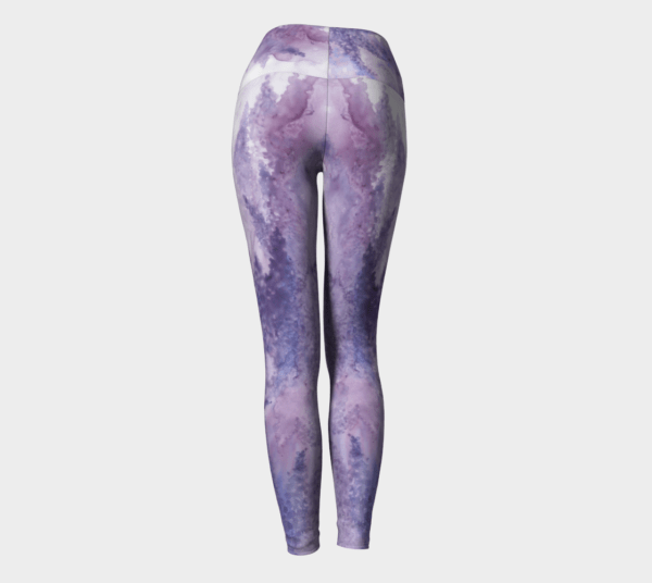Leggings Lavender Watercolor Leggings 1