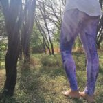 Leggings Lavender Watercolor Leggings 2