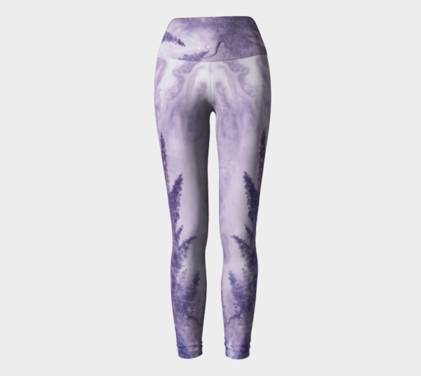 Leggings Lavender Watercolor Leggings 3
