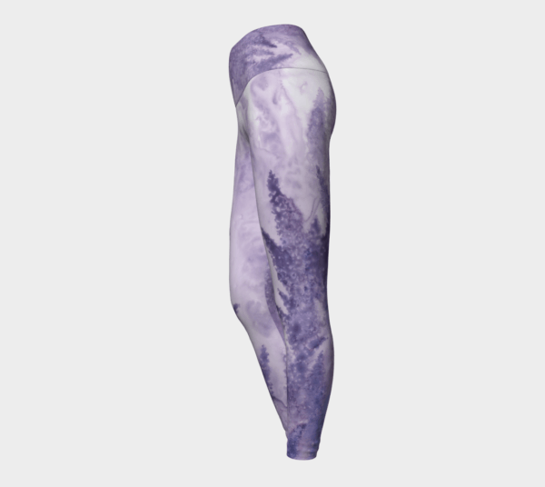 Leggings Lavender Watercolor Leggings 4