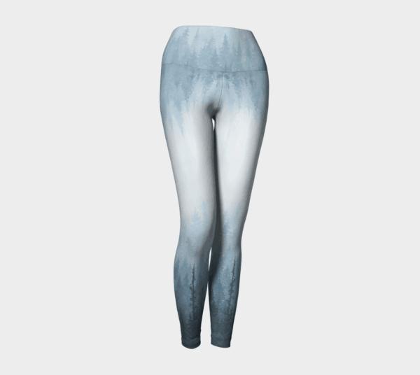 Leggings Ombre Blue Forest Leggings 1