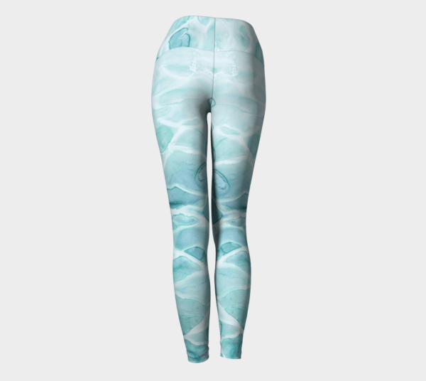Leggings Watercolor Sea Leggings 4
