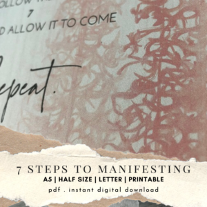 Manifesting Steps Cover Photo