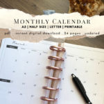 Monthly Planner Cover Photo