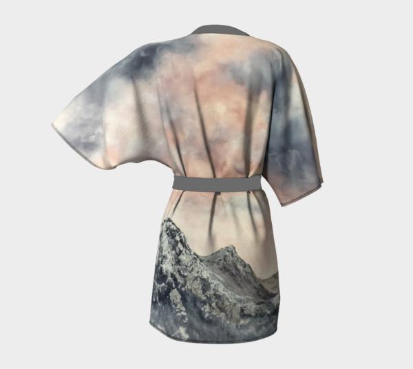 Morning Glory Kimono Robe
