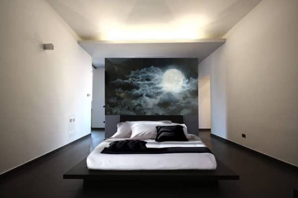 Murals Glowing Full Moon Wall Mural 4