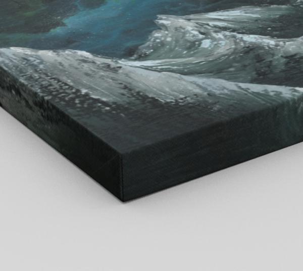 Nebula Twelve Canvas Print Corner