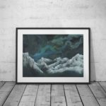 Nebula Twelve Framed Print