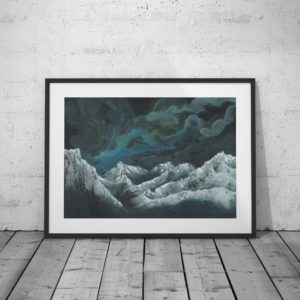 Nebula Twelve Framed Print