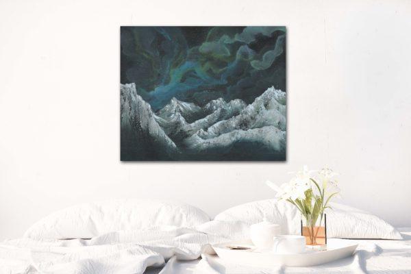 Nebula Twelve canvas mockup